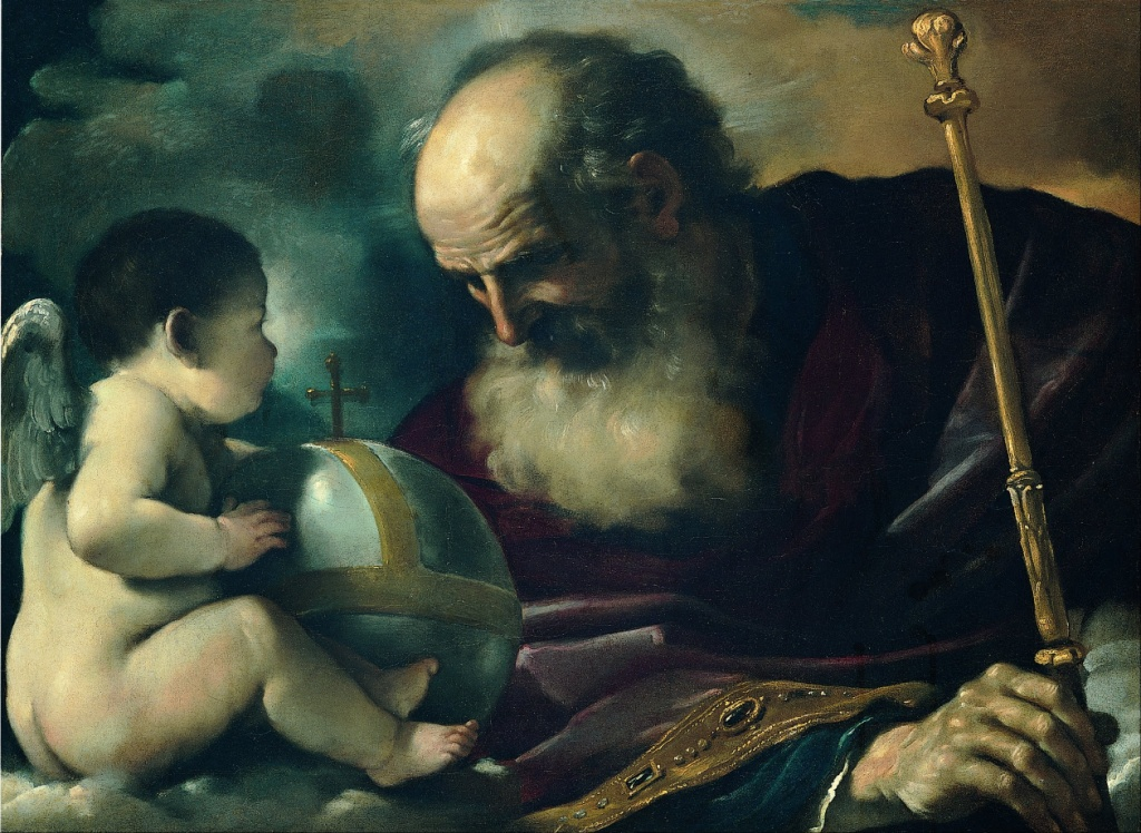 Guercino_(Giovan_Francesco_Barbieri)_-_God_the_Father_and_Angel_-_Google_Art_Project