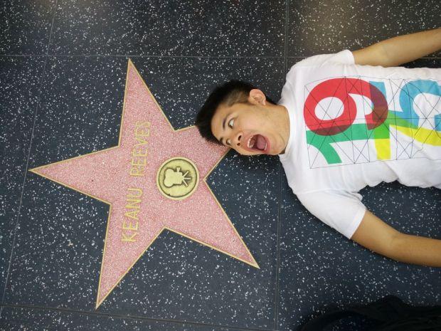 Paul Gan in Hollywood