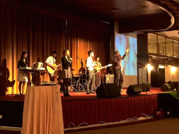 The praise and worship team of City Revival