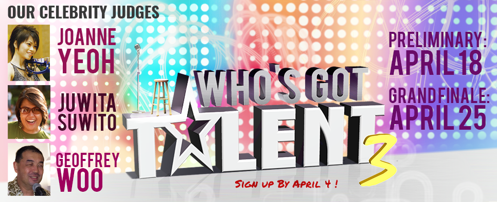 who got talent poster