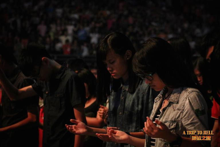 Everyone praying to the LORD, from heart to Heart