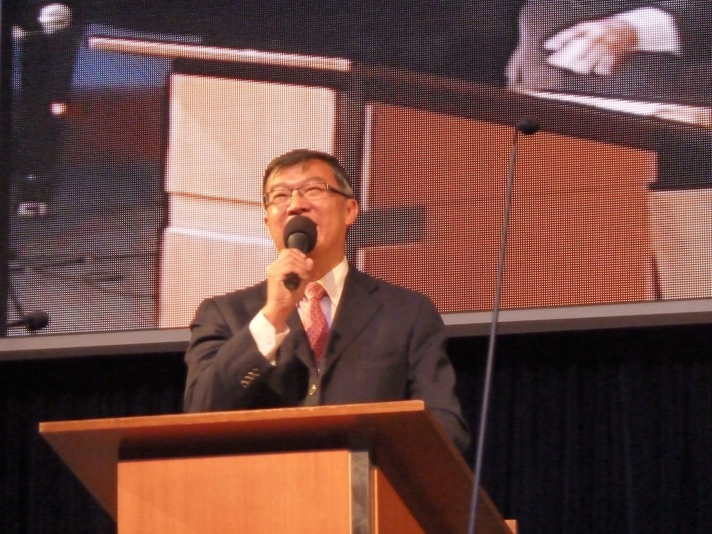 Rev John Kok, Pastor of Kuala Lumpur Baptist Church (KLBC) sharing about Jesus Christ and John the Baptist