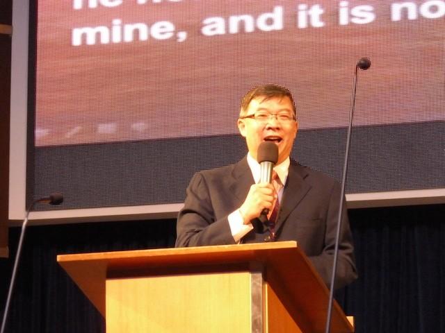 Rev John Kok, Pastor of Kuala Lumpur Baptist Church (KLBC)