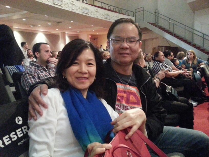 Eddy Yong and his wife Ireen