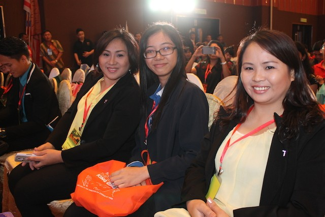Happy attendees of the conference