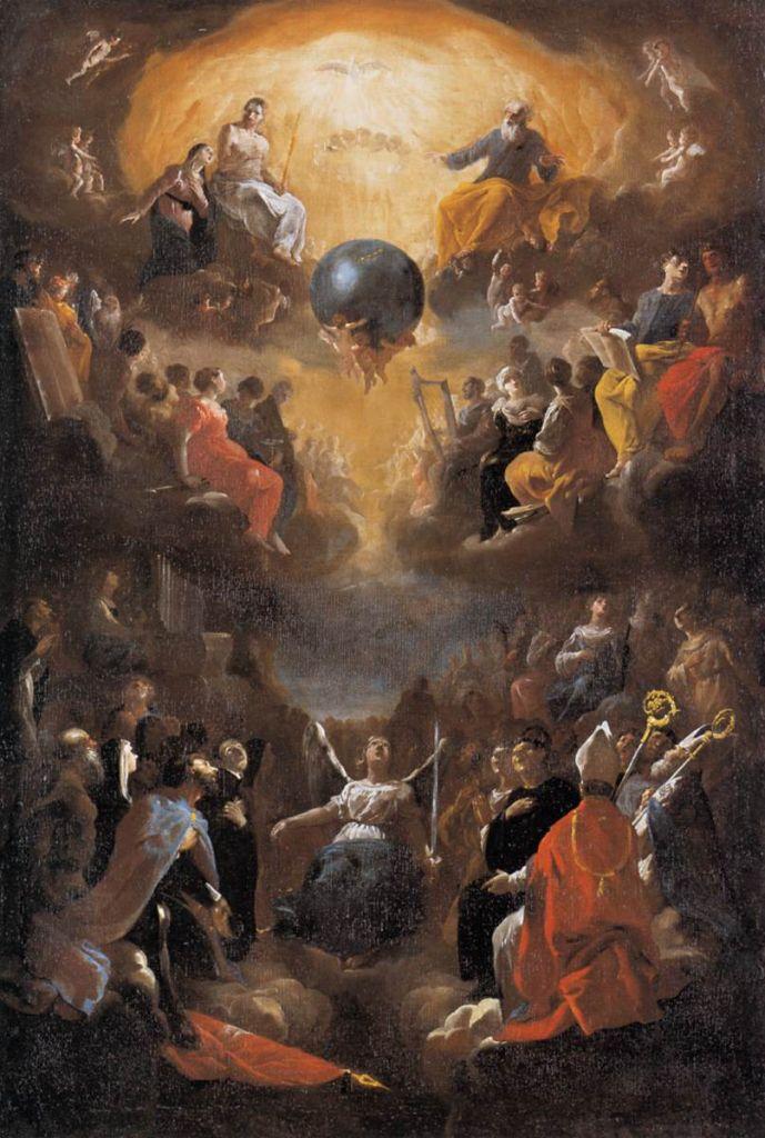 Johann_Heinrich_Schönfeld_-_Adoration_of_the_Holy_Trinity_-_WGA21055