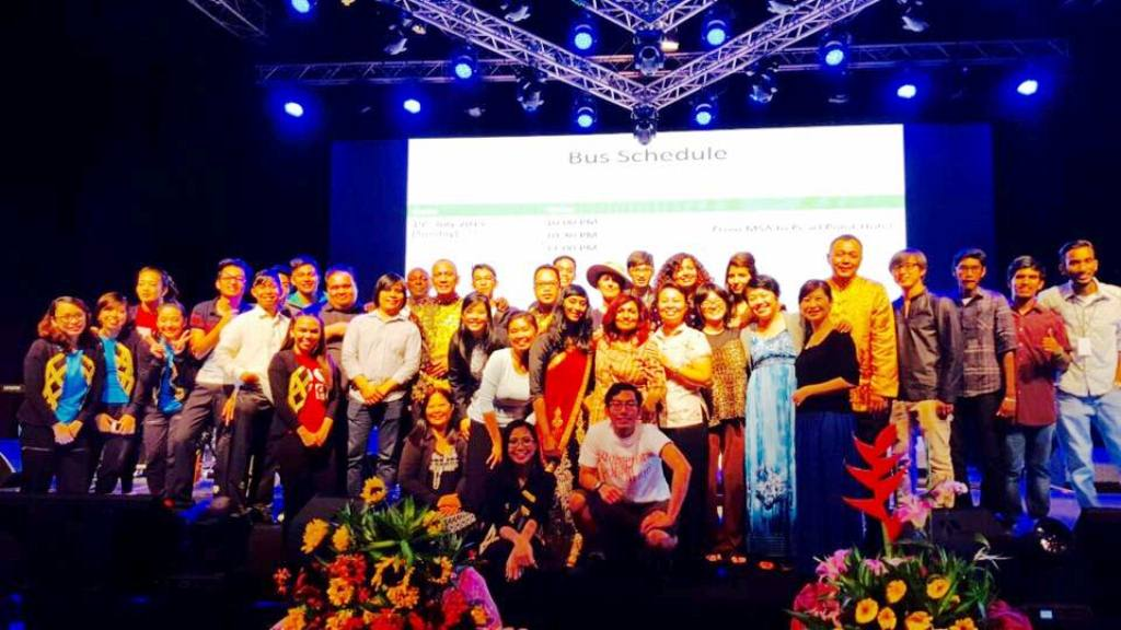 The people who volunteered their effort and time for the International Revival Conference 2015