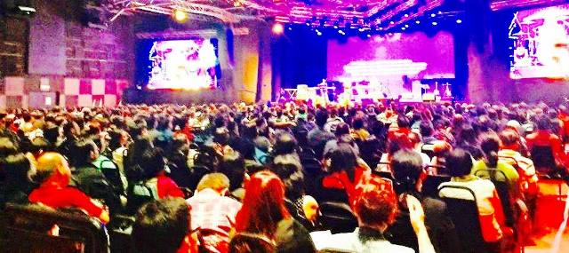 The attendees who came to the  International Revival Conference held at Mega Star Arena