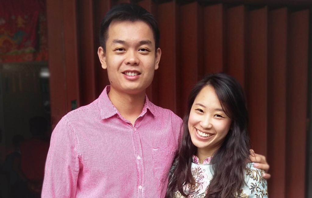 Abel and Jacintha Cheah
