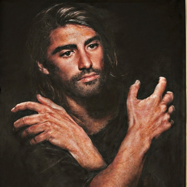 A picture of Jesus by Akiane Kramarik| Ref: pinimg