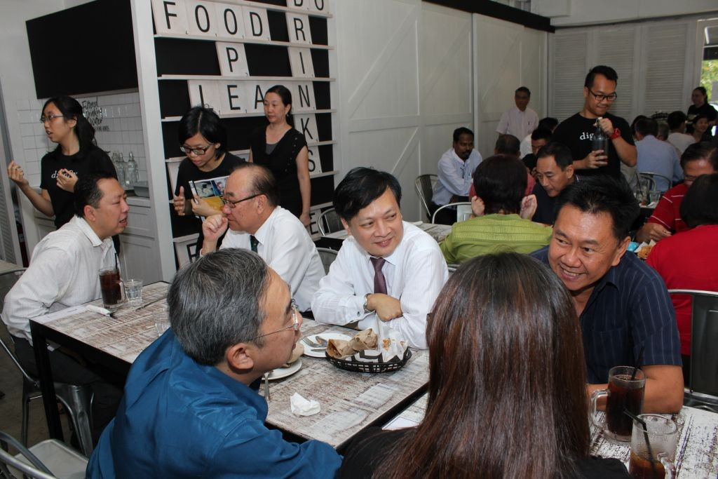 Friends, supporters, and sponsors of the Dignity for Children Foundation gathered at Project B