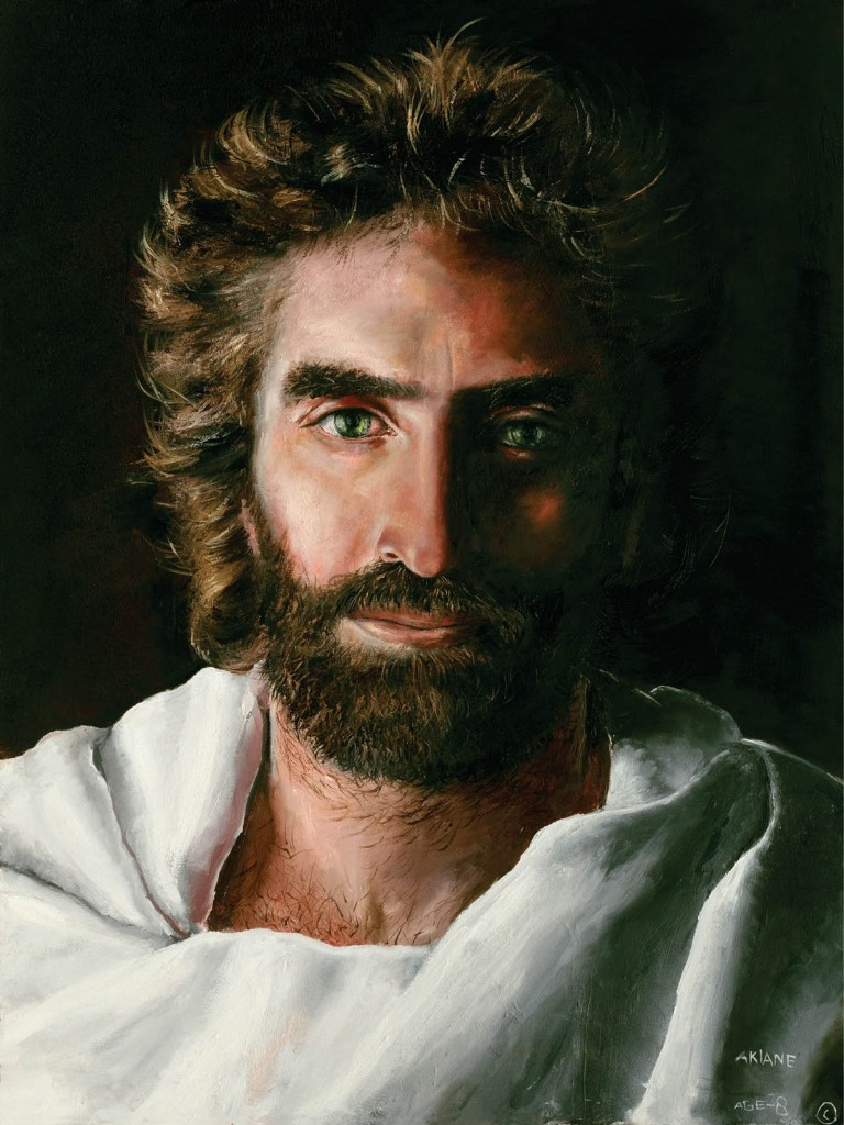 The picture of Jesus, painted by child-art-prodigy Akiane Kramarik at 8 years old | Ref: godreports