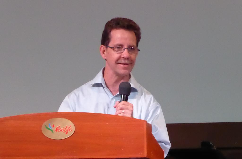 Dr Bradley Stuart of Yada International in New Life Restoration Church, Petaling Jaya
