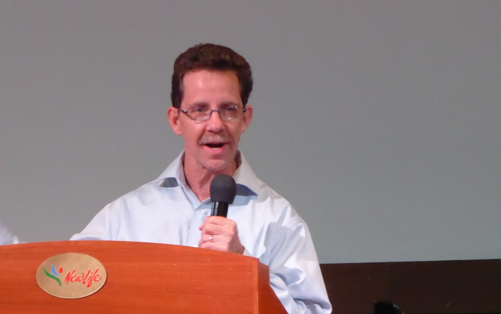 Dr Bradley Stuart of Yada International in New Life Restoration Church, Petaling Jaya