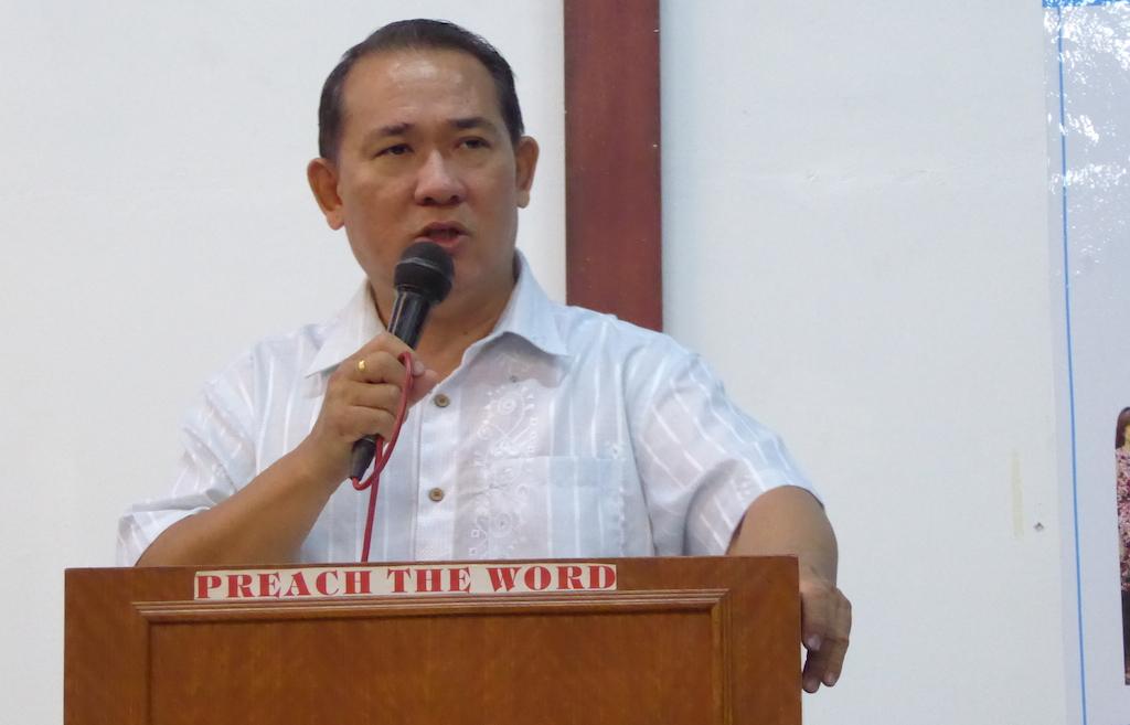 Pastor Joshua Ong