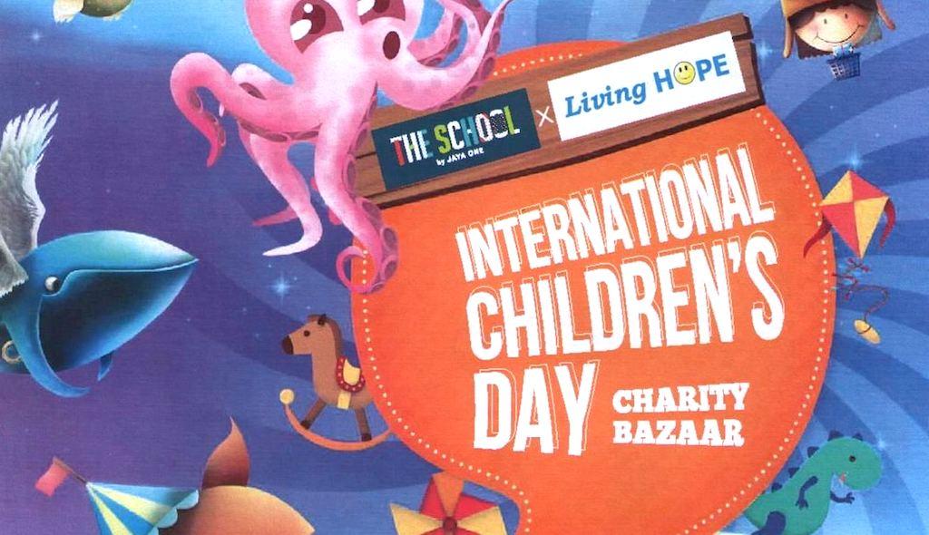 Flyer - International Childrens Day Charity Bazaar