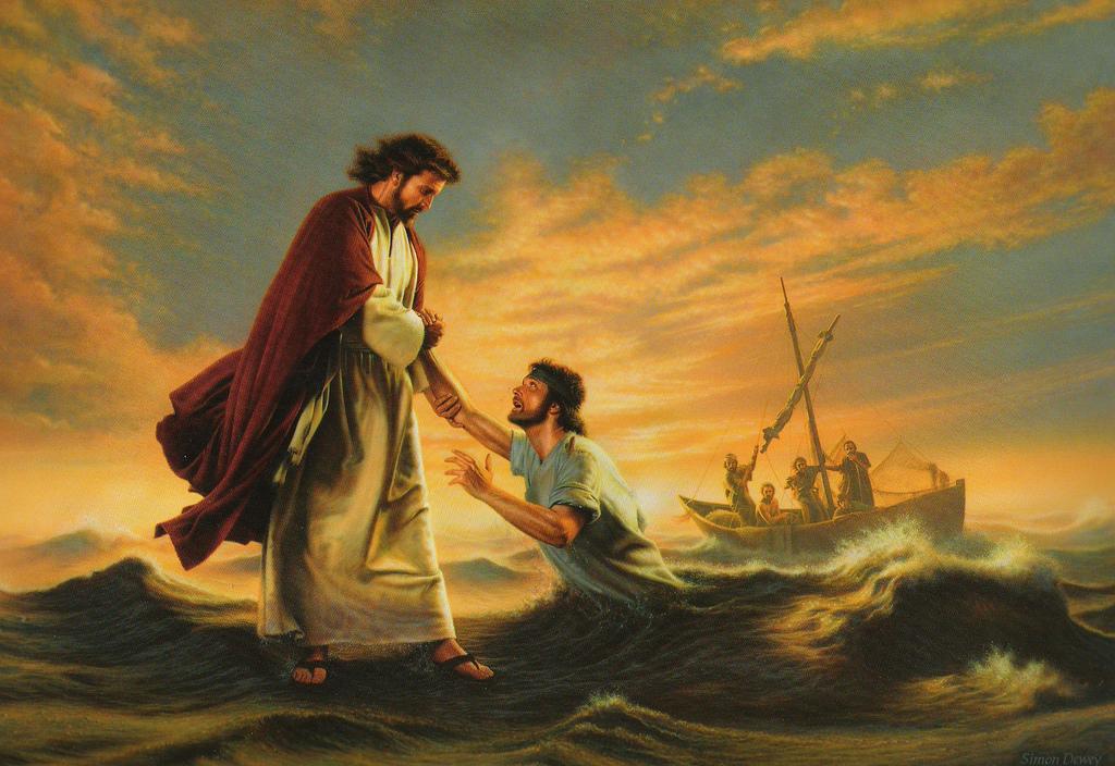 Jesus-Saves-Peter