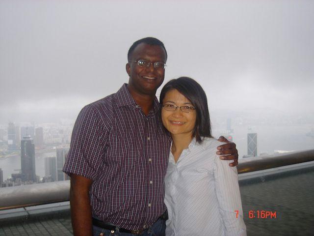 Pastor Ezekiel (left) and Pastor Aurora