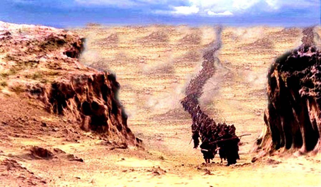 israelites-migrating-wandering