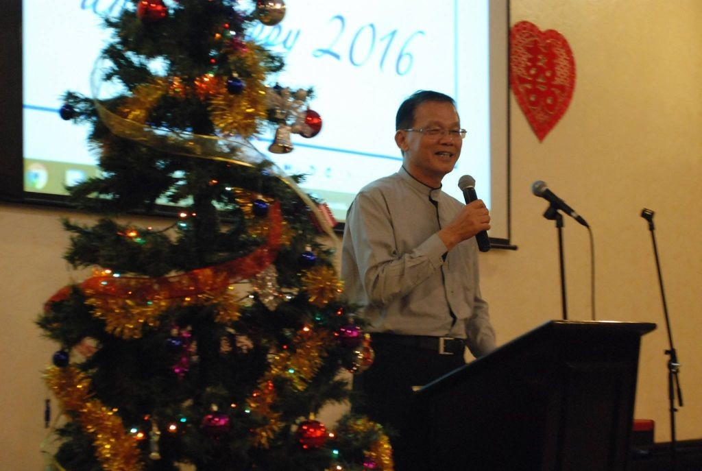 Rev. Henry Liew, Chairman of the National Foursquare Gospel Church of Malaysia Photo Credit: Victory Church