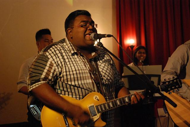 Asaph Shavindran, guitarist and vocalist of The Movement