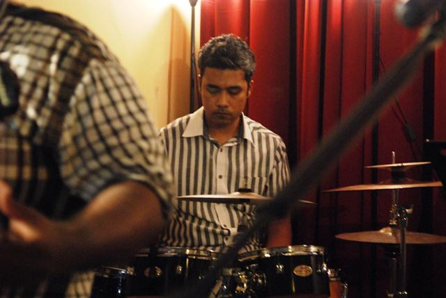 Aaron Chew, drummer of The Movement