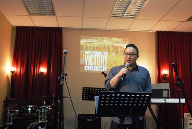 Pastor Joel Liew of Victory Church
