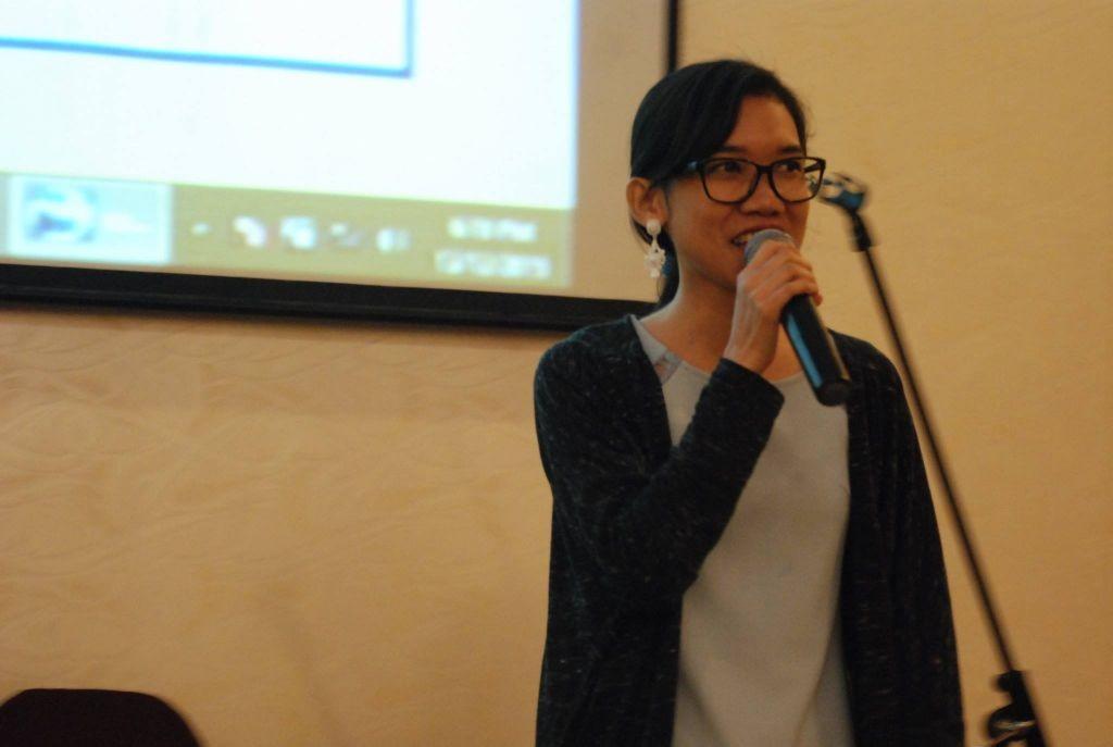 Sis. Caronika performing one of her own original songs