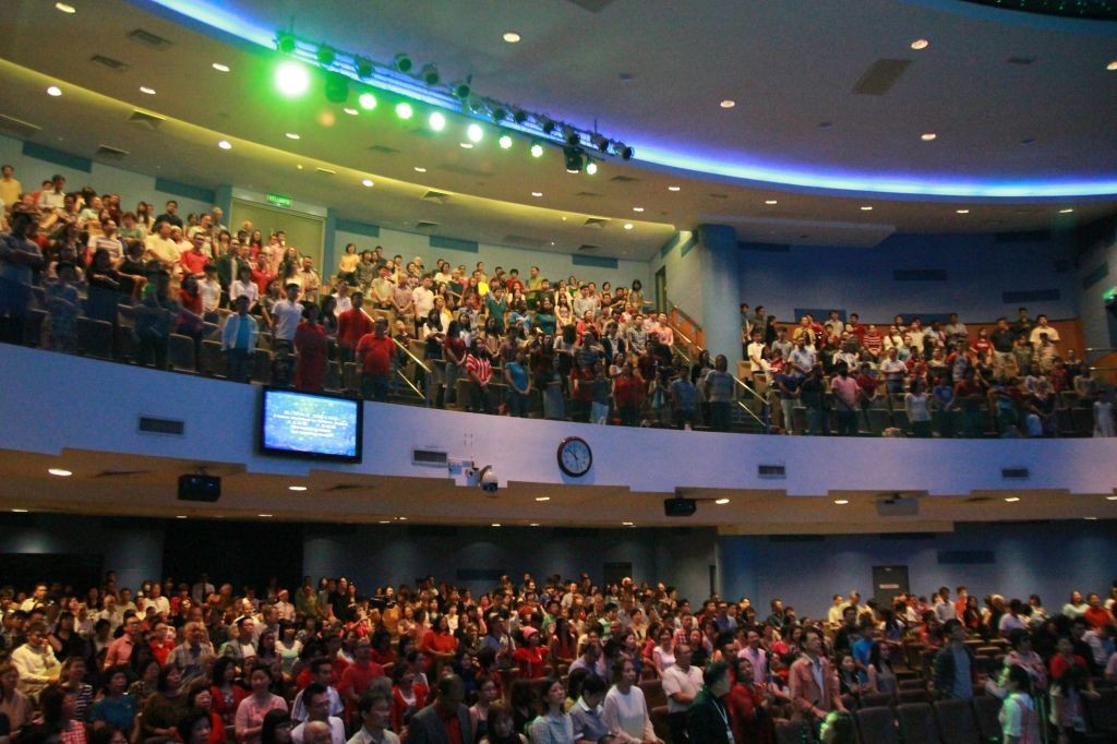 It was a full house at KLBC on Christmas morning Photo Credit: KLBC