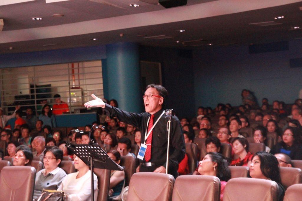 Bro Peter Lim, the conductor of The Singing Ambassadors Photo Credit: KLBC