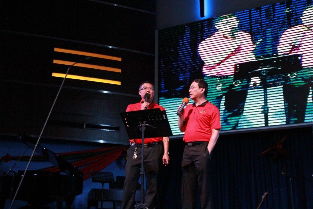 Ps. John Kok sharing the Christmas story Photo Credit: KLBC