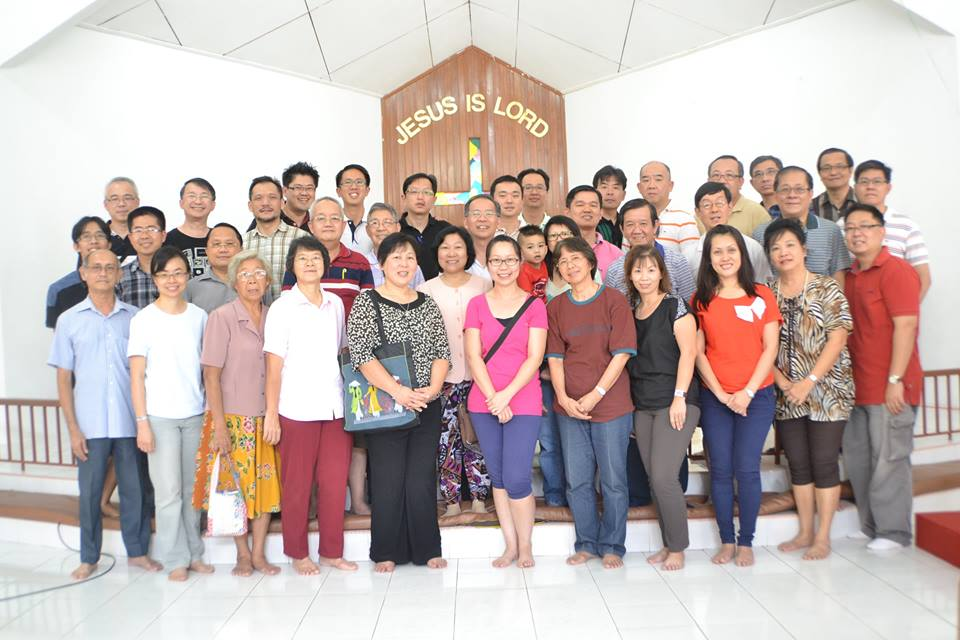 Pastor Simon Soh and his wife Pei Ting attending the Singapore-Malaysia Chinese Clergy Retreat in Kota Bharu