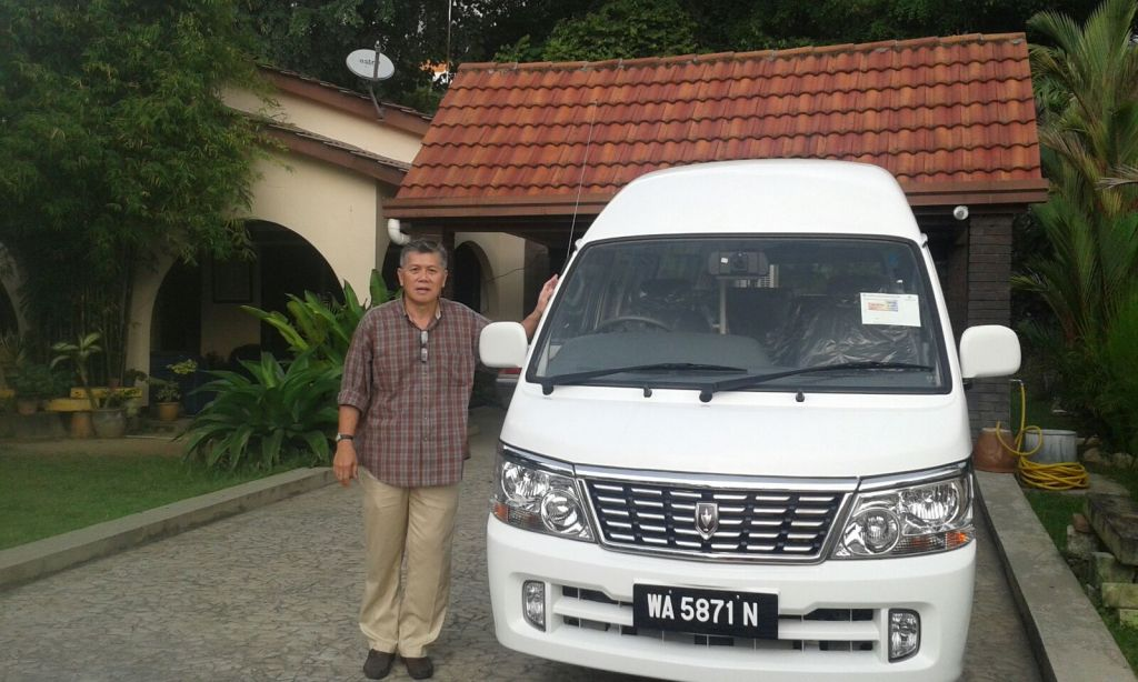 Bro Daniel with a 24 seater van God finally blessed Second Chance Community Home with after praying for 6 years.