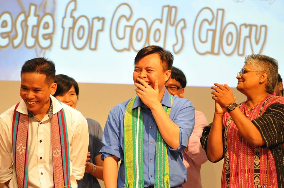 The K.O.W team: Bro. Thurston Atong, Bro. Chris Herbert, and Sis. Annette Arulrajah Photo Credit: FES Malaysia