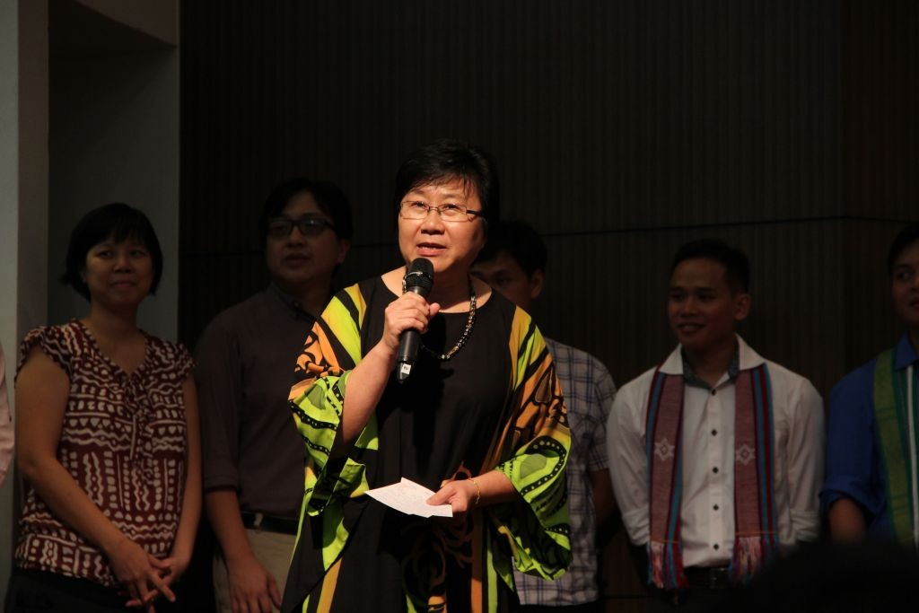 Dr. Loh Kim Cheng, outgoing General Secretary