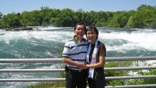 """""""Remarriage may seem like a swelling river, but standing on God's promises makes it calm and solid"""" -- Ps. Samuel and Ps. Connie Ng"""