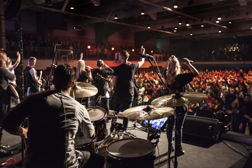 The Planetshakers team at the Planetshakers Awakening Conference 2016 in Malaysia
