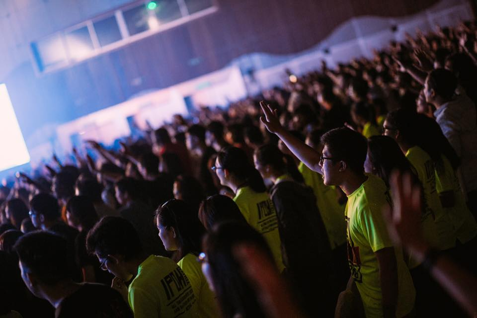 The people who came to the Planetshakers Awakening Conference 2016 at Sunway Convention Centre