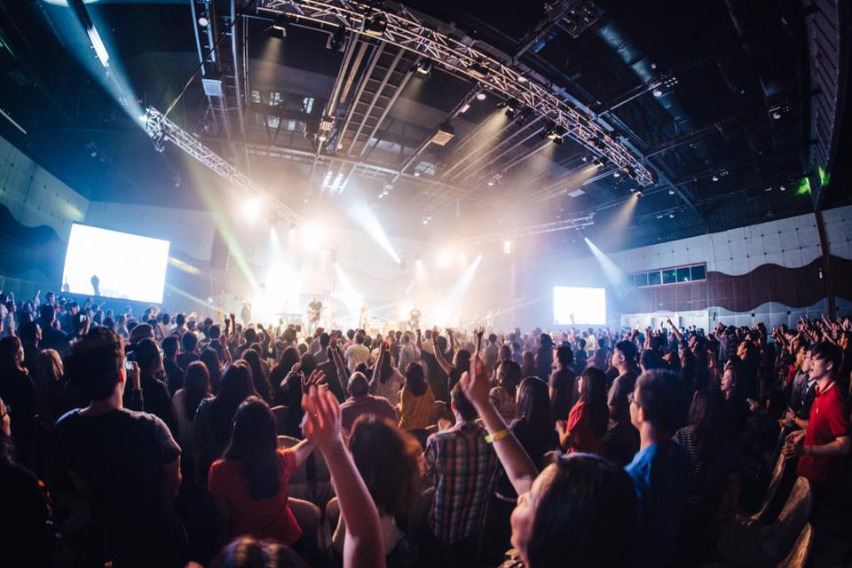 Worshippers of God in Spirit and in Truth, in the Planetshakers Awakening Conference 2016