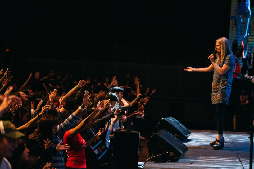 Pastor Sam Russell of Planetshakers