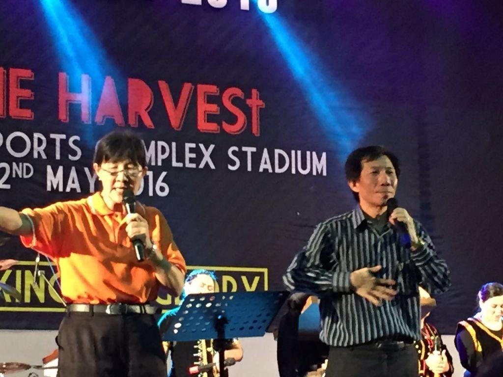 Ps. Paul Ang and his interpreter