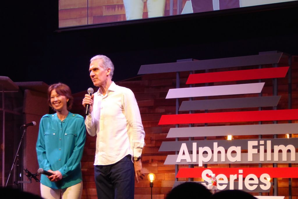 Nicky and Pippa Gumbel launching the Alpha Film Series in Holy Trinity Bukit Bintang (HTBB), Lot 10, Kuala Lumpur