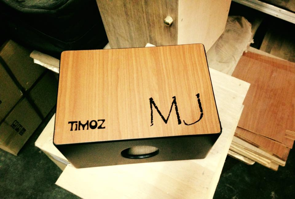 Customized and personalized! Photo Credit: Timoz Custom Cajons & Percussion
