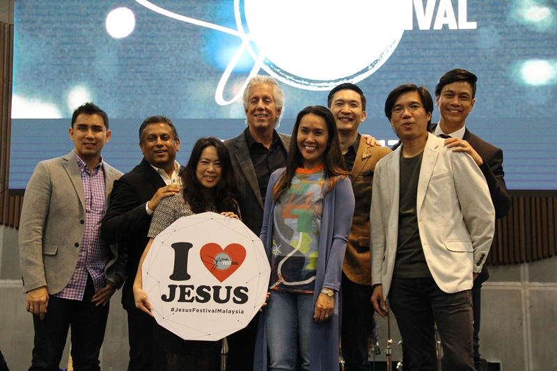 Pastor Philip Mantofa (3rd from right)