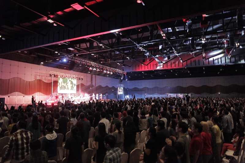 Jesus Festival 2016 at Sunway Convention Centre