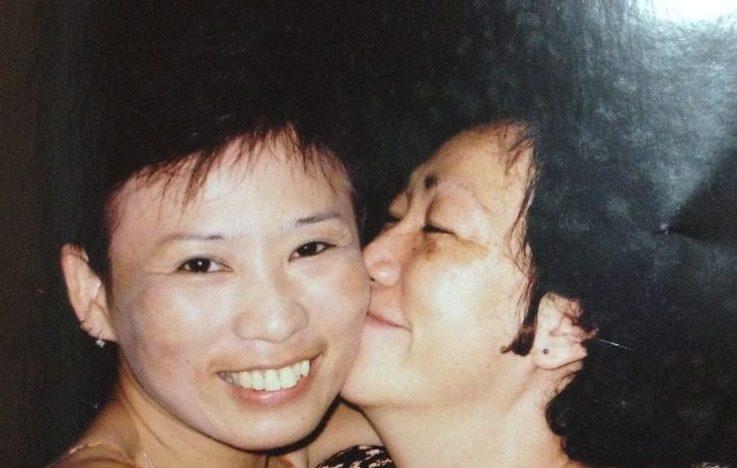 Sarah Lim (left)