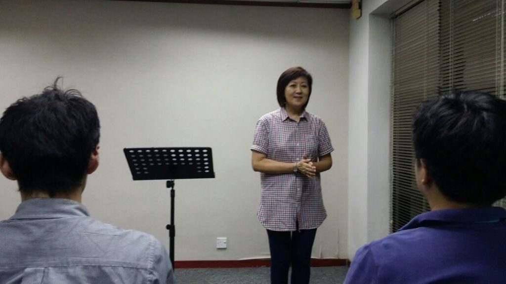 Sis Helen How sharing the Word