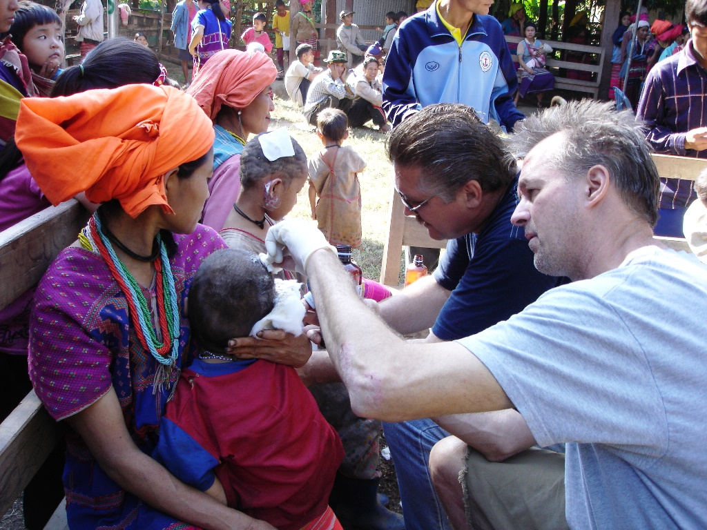 LWMI medical clinic opened by missionaries to offer medical care to the local Thai people