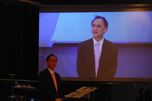 Rev Joshua Yee, Senior Pastor of Renewal Lutheran Church