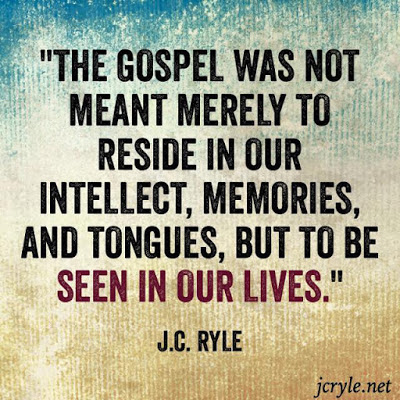 REPENTANCE JC RYLE